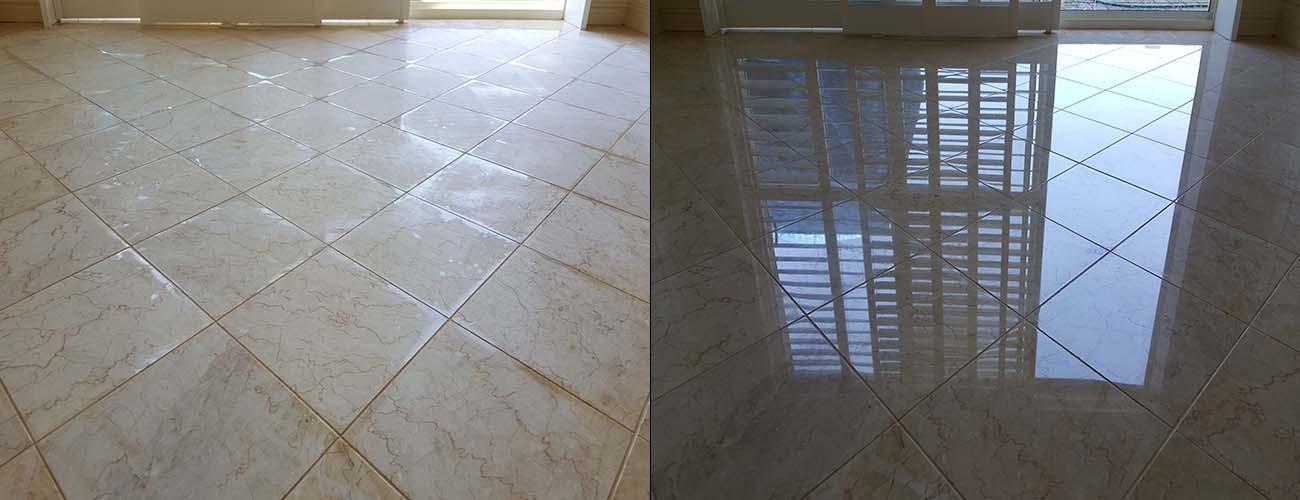 Honing and Polishing Marble Tiles Perth