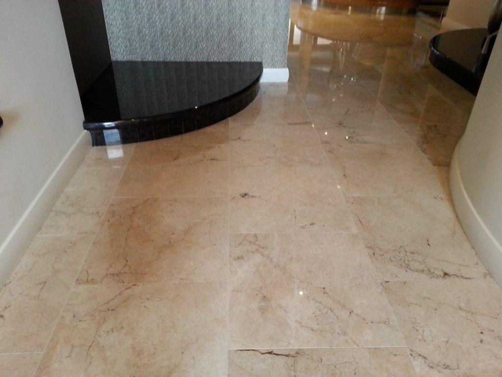 Honing and Polishing Limestone Tiles Perth