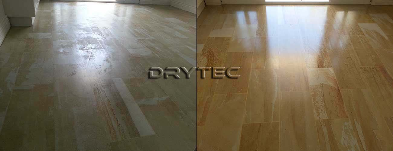 Sandstone Tiles Cleaning and Sealing