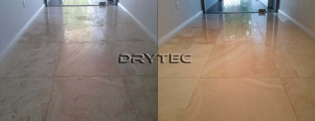 Travertine Polishing and Honing