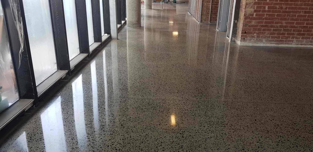 Polished Concrete and Honed concrete Flooring