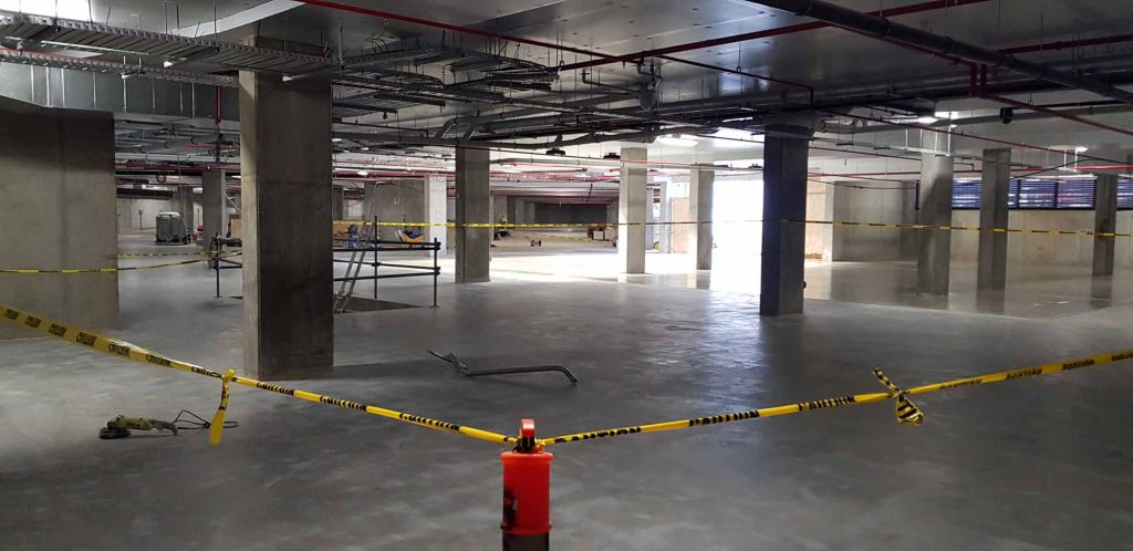 Commercial Concrete Floor Grinding and Polishing in Perth