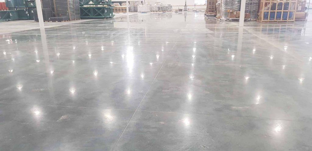 Industrial Concrete Floor Polishing in Perth