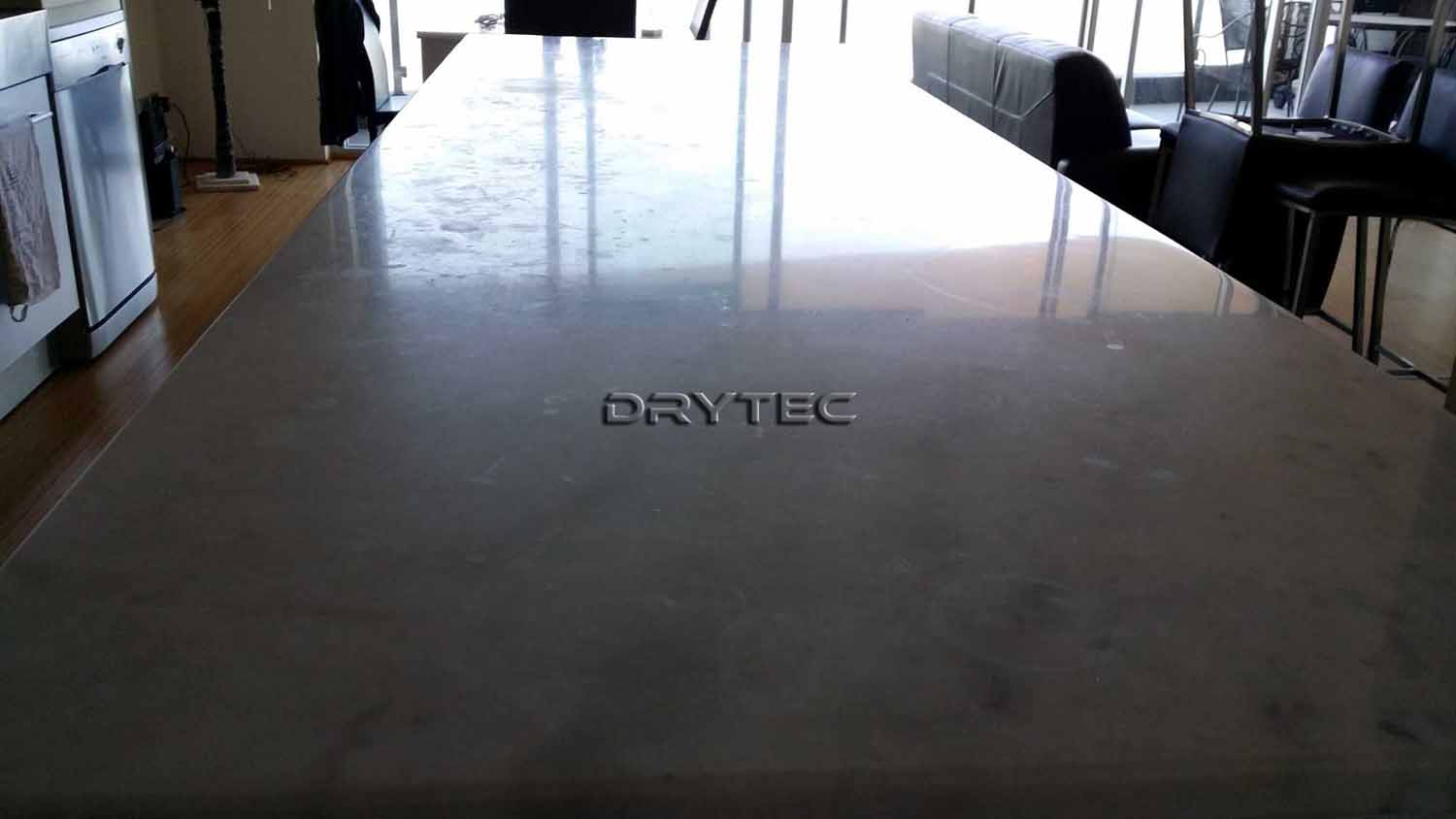 Marble Bench top Restoration-Chip Repairs-Grinding-Honing-Polishing-Cleaning and Sealing in Perth WA