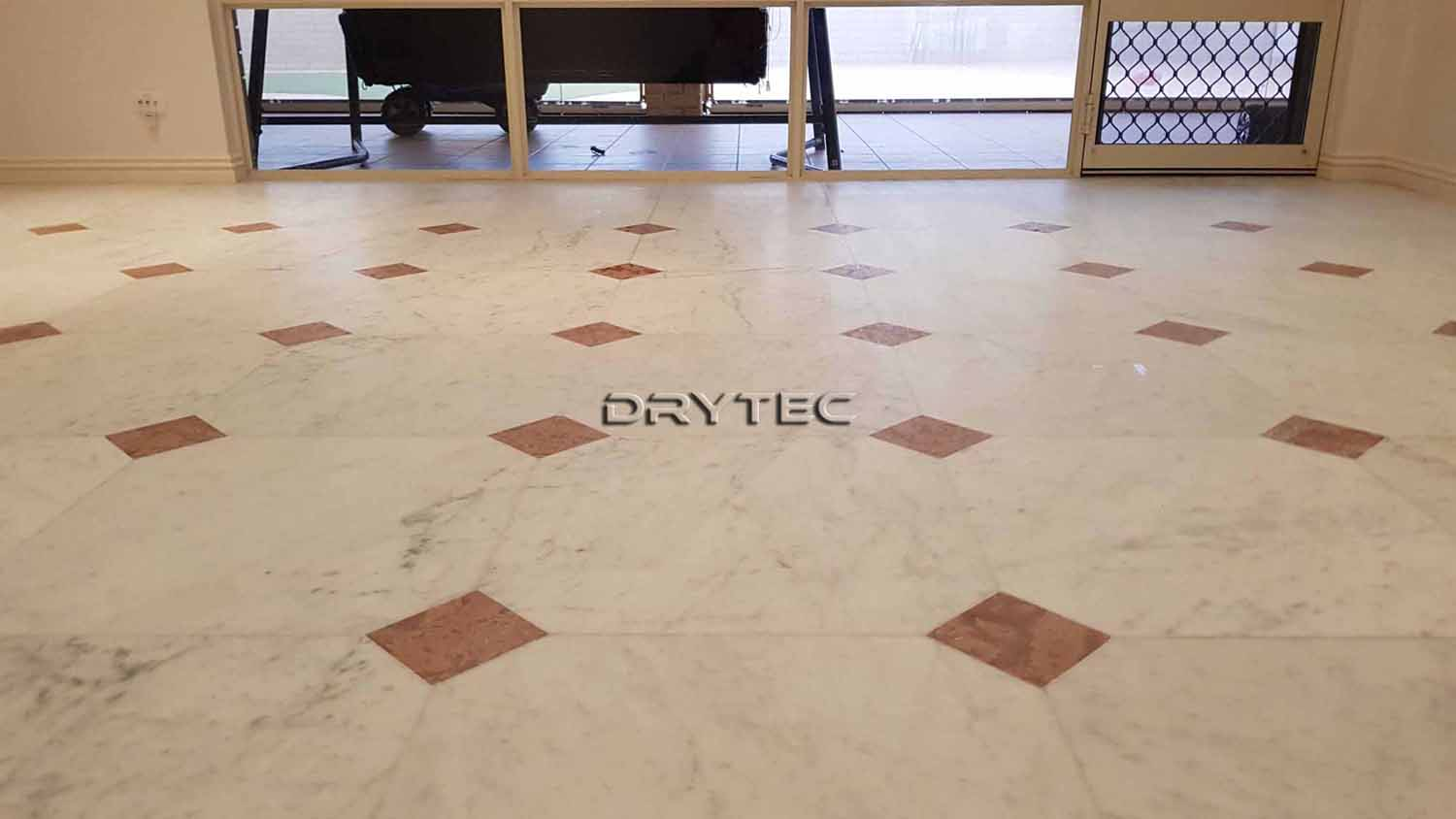 Marble Floor Tiles Restoration-Grinding-Honing-Polishing-Cleaning and Sealing Service in Perth