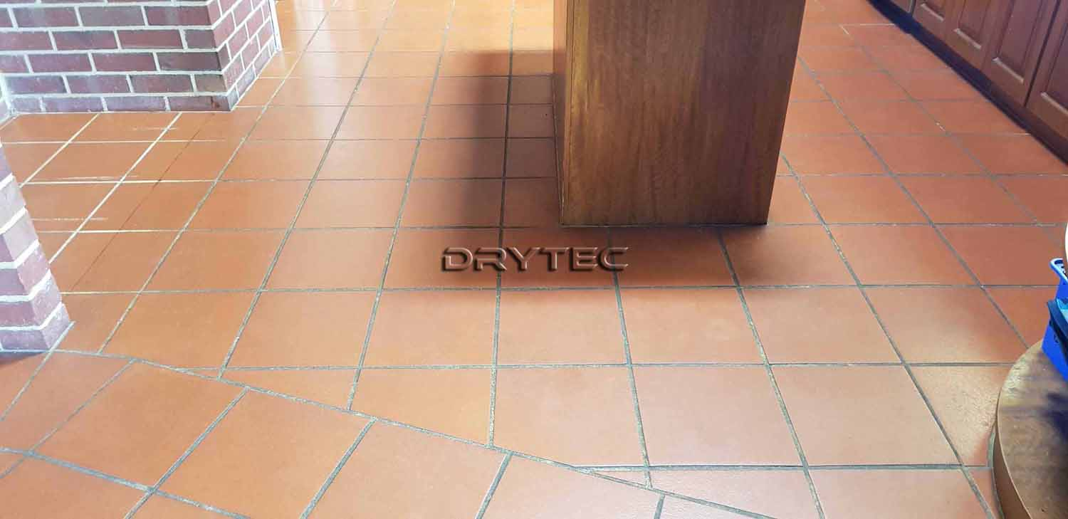 Terracotta Floor Tiles Stripping- Cleaning and Sealing Services in Perth WA