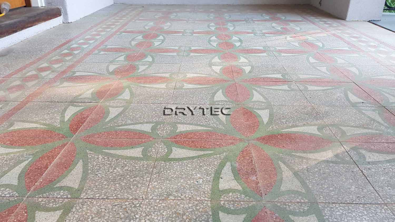 Terrazzo Floor Tiles Stripping- Cleaning and Sealing Services in Perth WA