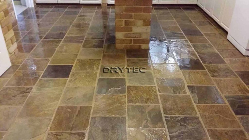 Slate Floor Tiles Stripping- Cleaning and Sealing Services in Perth WA