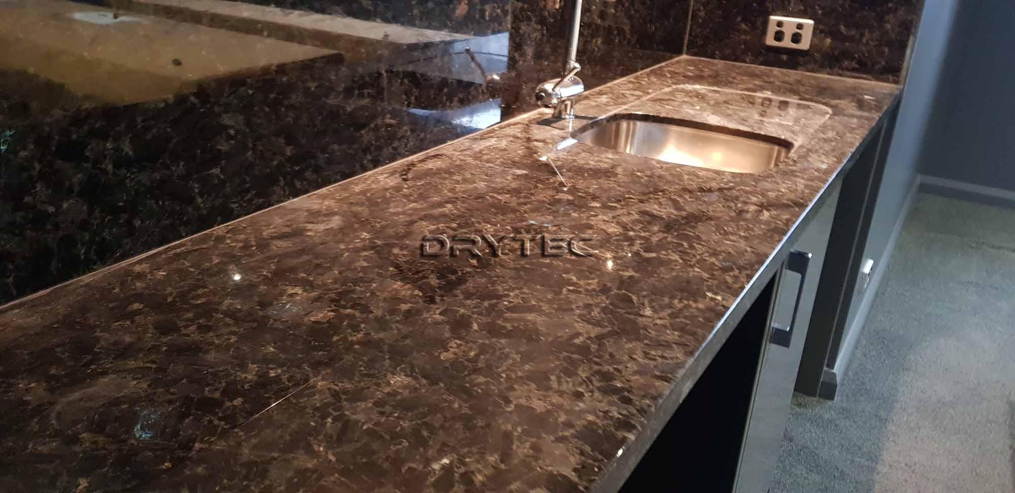 Granite Benchtop Restoration & Polishing