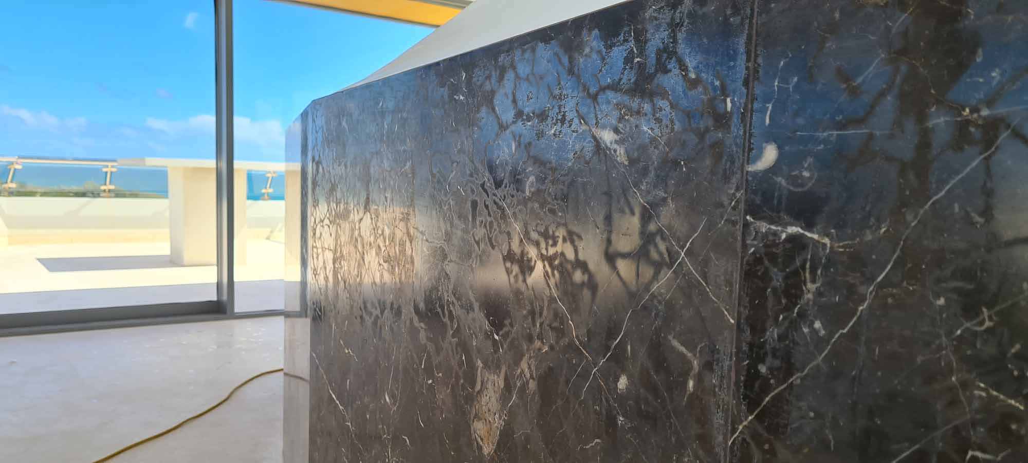 Marble Benchtop Restoration