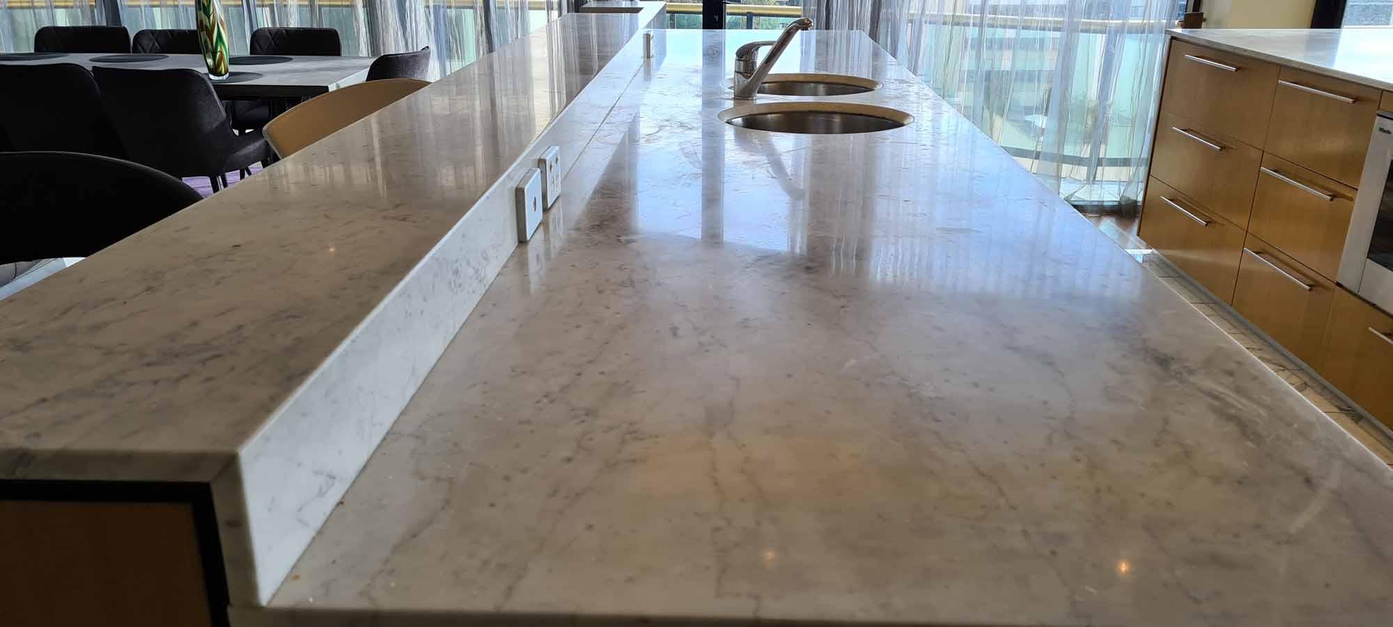 Marble Restoration, Grinding, Honing, Polishing & Sealing in Perth WA