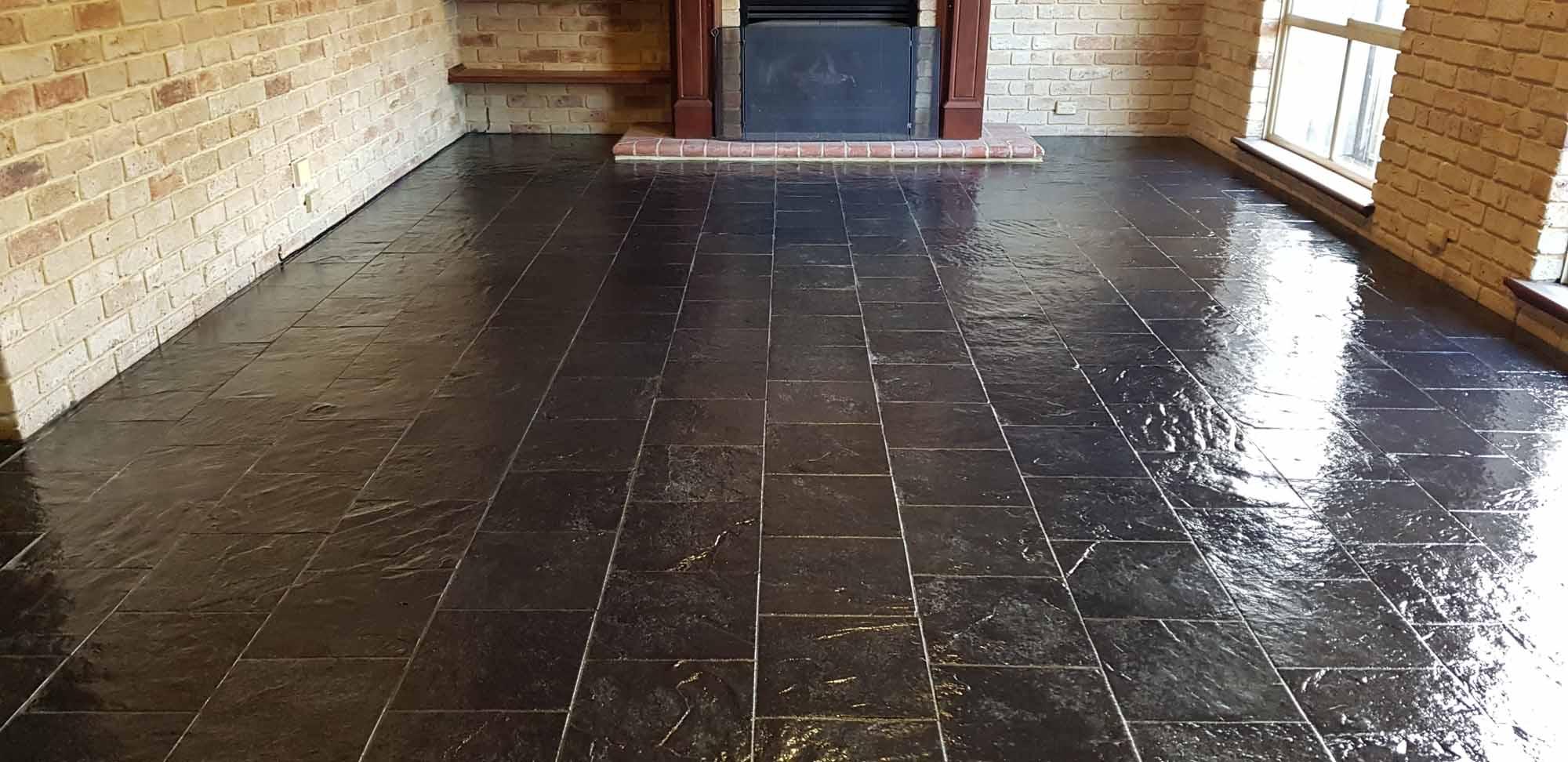 Slate Tile Cleaning & Sealing Perth WA